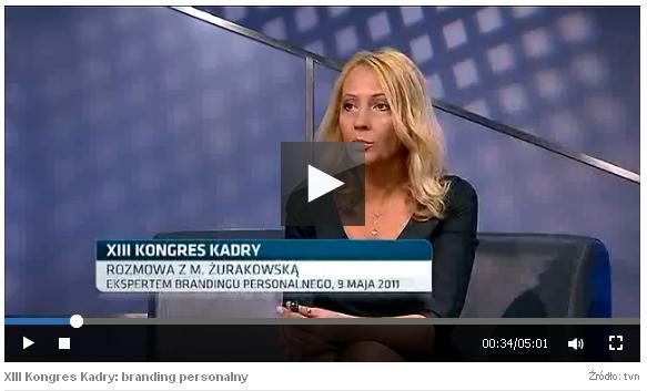 Opersonal brandingu wTVN CNBC.